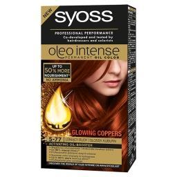 Oleo Intense Farba do włosów Lśniący rudy 5-77