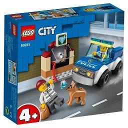 City Police Oddział policyjny z psem 60241