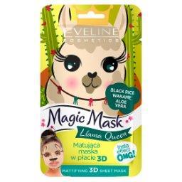 Magic Mask Llama Queen Matująca maska w płachcie 3D