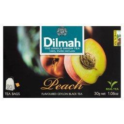Cejlońska czarna herbata z aromatem brzoskwini 30 g (20 torebek)