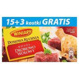 Domowa Kuchnia Rosół drobiowo-wołowy  (18 kostek)