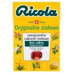 Szwajcarskie cukierki ziołowe oryginalne ziołowe
