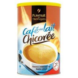 Kawa z mlekiem na bazie cykorii