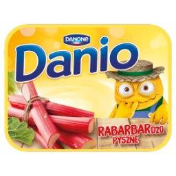 Danio Serek homogenizowany z rabarbarem