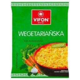 Zupa błyskawiczna wegetariańska