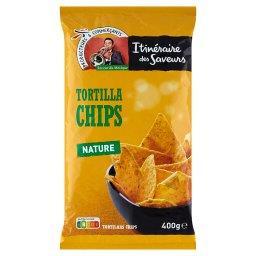 Chipsy kukurydziane Tortilla o smaku naturalnym