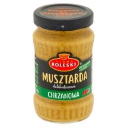 Delikatesowa Musztarda chrzanowa