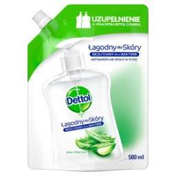 Antybakteryjne mydło w płynie zapas aloes i witamina E
