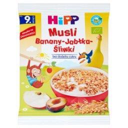 BIO Musli banany-jabłka-śliwka po 9. miesiącu