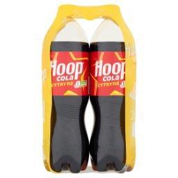 Napój gazowany cola cytryna