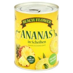 Ananas plastry w soku ananasowym