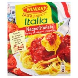Sosy do makaronu Italia Sos neapolitański łagodny z oregano i tymiankiem