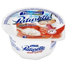 Paturette Deser ryżowy z truskawkami
