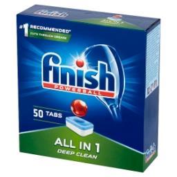 All in 1 Tabletki do mycia naczyń w zmywarce  (50 sztuk)