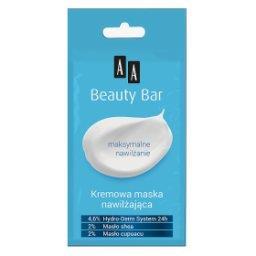 Beauty Bar kremowa maska nawilżająca 8 ml