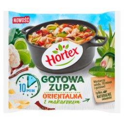 Gotowa zupa orientalna z makaronem