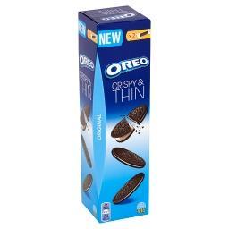 Original Crispy & Thin Ciastka kakaowe z nadzieniem o smaku waniliowym  (16 sztuk)