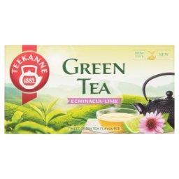 Herbata zielona z herbatką owocową ziołową o smaku limonki 35 g