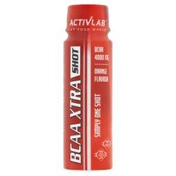 BCAA Xtra Shot Suplement diety smak pomarańczowy
