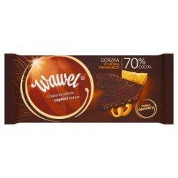 Czekolada gorzka ze skórką pomarańczy 70% Cocoa