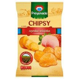 Chipsy o smaku szynka wiejska
