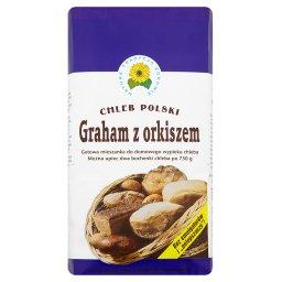 Graham z orkiszem Gotowa mieszanka do domowego wypieku chleba 1 kg