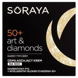 Art & diamonds 50+ Odmładzający krem na noc