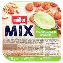 Mix Jogurt o smaku pistacjowym z ciasteczkami migdałowymi