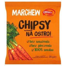 Marchew Chipsy przyprawione na ostro 20 g
