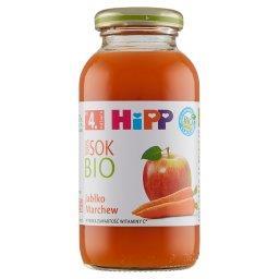 BIO Sok 100% jabłko marchew po 4. miesiącu
