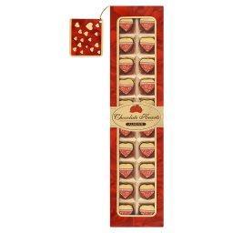Chocolate Hearts Almond Czekoladki nadziewane