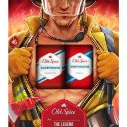 Whitewater Fireman Zestaw podarunkowy dla mężczyzn