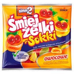 Śmiejżelki Sokki Żelki owocowe wzbogacone witaminami