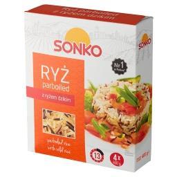 Ryż parboiled z dzikim 400 g (4 torebki)