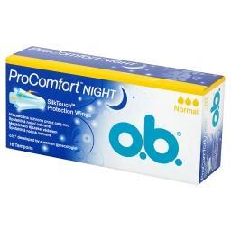 ProComfort Night Normal Tampony 16 sztuk