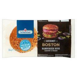 Gourmet Boston Bułki pszenne do hamburgerów 324 g (4 x )