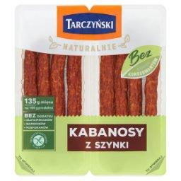 Naturalnie Kabanosy z szynki 180 g