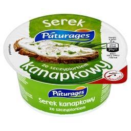 Serek kanapkowy ze szczypiorkiem