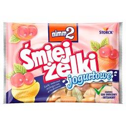 Śmiejżelki jogurtowe Żelki owocowe wzbogacone witaminami