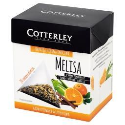Herbatka ziołowa owocowa melisa o smaku pomarańczy z...