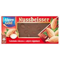Nussbeisser Gold Czekolada mleczna z całymi migdałam...