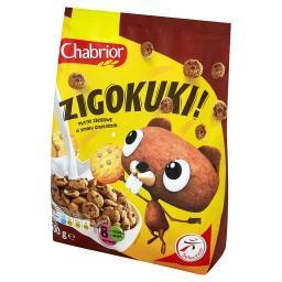 Zigokuki! Płatki zbożowe w kształcie ciasteczek o smaku czekoladowym