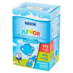 Junior Mleko modyfikowane dla dzieci od 1. roku życia o smaku naturalnym 700 g