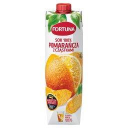 Sok 100% pomarańcza z cząstkami