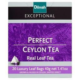 Exceptional Czarna cejlońska herbata klasyczna 40 g (20 torebek)