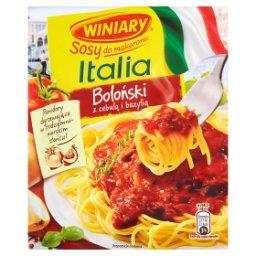 Sosy do makaronu Italia Sos boloński z cebulą i bazylią