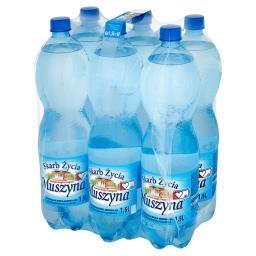 Skarb Życia Naturalna woda mineralna wysokozmineralizowana lekko gazowana 6 x 1,5 l