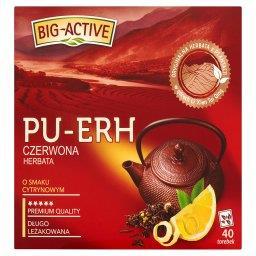Pu-Erh Herbata czerwona o smaku cytrynowym 72 g (40 ...