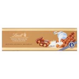 Szwajcarska czekolada mleczna z całymi orzechami laskowymi