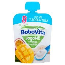 JogoMi! Owoce z jogurtem z mango i marakują po 8 miesiącu